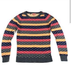EUC ModCloth Retro Striped Sweater